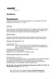 Dyspepsie - mediX schweiz