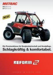 ref flugblatt folder metrac hx de 1008.indd - Wim van Breda BV
