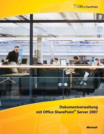 Whitepaper Dokumentverwaltung mit SharePoint