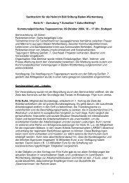1 Sachbericht für die Heinrich Böll Stiftung Baden-Württemberg ...