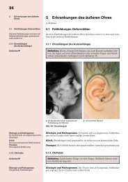 94 5 Erkrankungen des äußeren Ohres