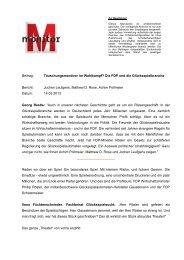 Beitrag: Täuschungsmanöver im Wahlkampf? Die FDP ... - WDR.de