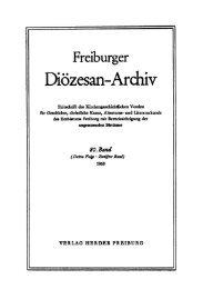Freiburger Diözesan-Archiv ; Band 80 (1960) - FreiDok