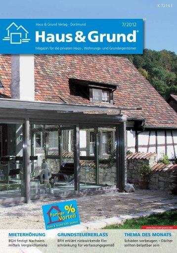 Haus & Grund hilft sparen!