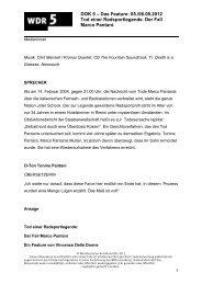 Manuskripte (pdf) - WDR 5