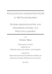 My Title - Gruppe - AG Maier - Universität Bonn
