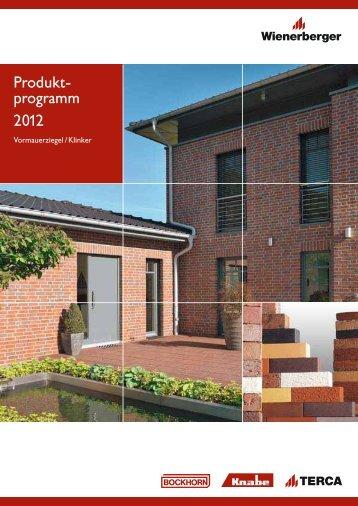 Produktprogramm 2012