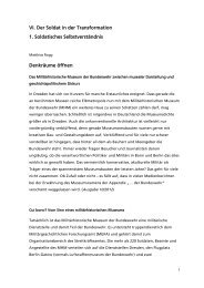Denkräume öffnen ( PDF , 316 kB) - Reader Sicherheitspolitik