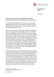 Carl De Keyzer setzt auf Premiumqualität von Scheufelen Neuester ...