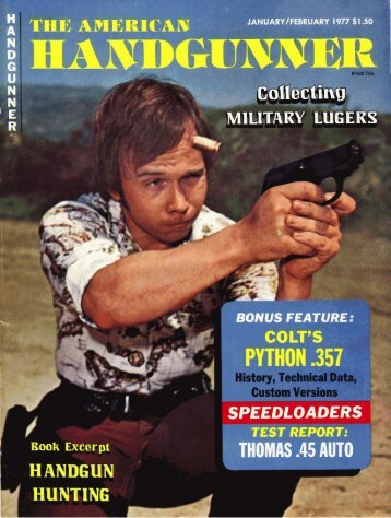 American Handgunner Jan/Feb 1977