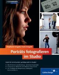 Leseprobe zum Titel: Portäts fotografieren im Studio - Die Onleihe
