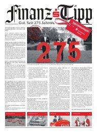 S-Finanz-Tipp Jubiläumsausgabe - Sparkasse Hanau