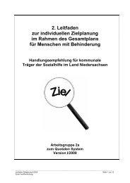 2. Leitfaden zur individuellen Zielplanung im Rahmen des ...