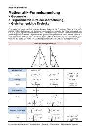 Gleichschenklige Dreiecke - Michael-buhlmann.de
