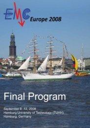 EMC Europe 2008 Hamburg 1
