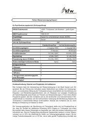 Wasserversorgung Kayseri [2007] (PDF, 89 KB) - KfW ...