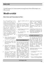 Biodiversität - SDN