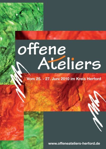 A eliers - j - offene Ateliers Herford