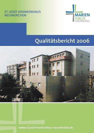 Qualitätsbericht 2006 - Krankenhaus.de