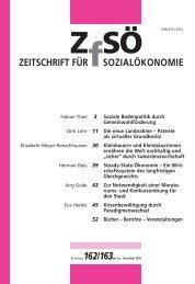 ZEITSCHRIFT FÜR SOZIALÖKONOMIE 162/163.