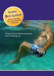 Zielgerichtete Risikoreduktion durch Bewegung - Prof. Dr. Rudolf ...
