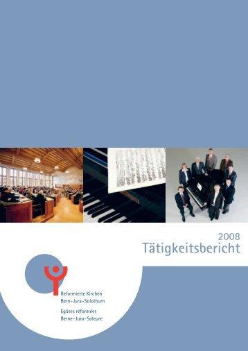Tätigkeitsbericht - Reformierte Kirchen Bern-Jura-Solothurn