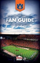 The official Fan Guide
