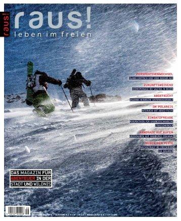 Das Magazin für Abenteuer in Der Stadt und Wildnes