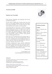 Dr. Henning Scherf zum Thema - Institut für Politikwissenschaft der ...
