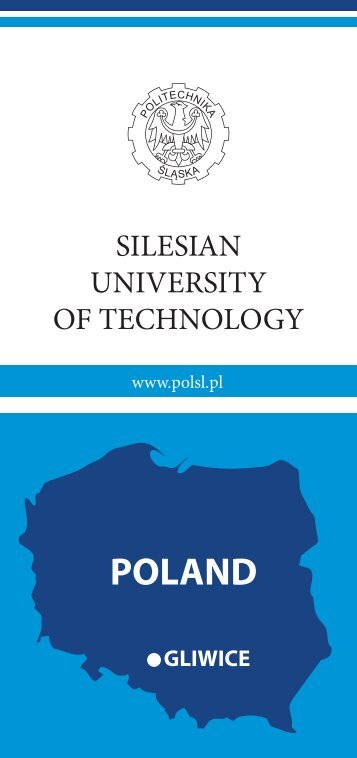 leaflet Silesian University of Technology.pdf