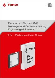 Ergänzungsdokument -SPC Extension Modul, SD-Card - Flamco