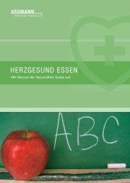 Herzgesund essen - Assmann-Stiftung für Prävention