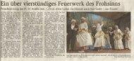 Hünfelder Zeitung 16. Februar 2009 - Karneval-Haunetal