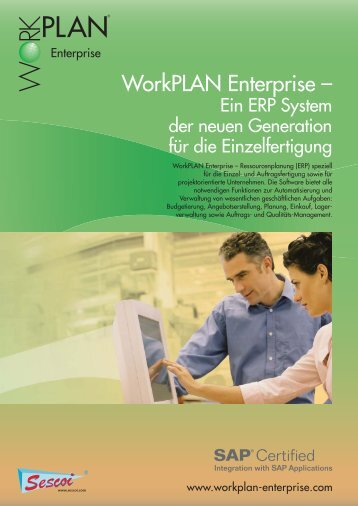 WorkPLAN Enterprise PDF Brochüre