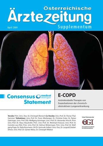 E-COPD - Österreichische Gesellschaft für Infektionskrankheiten