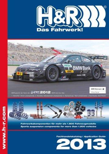H&R Fahrwerke 2013 (19 MB) - KERSCHER TUNING