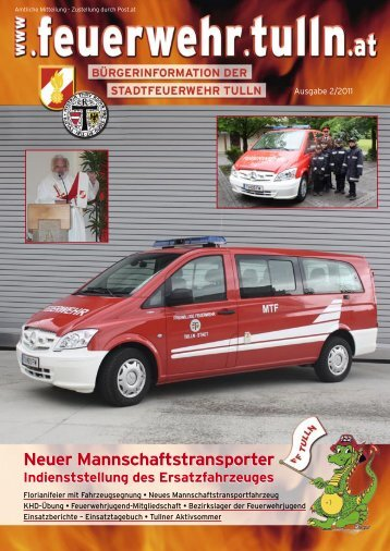 pdf, ~1,3 MB - Stadtfeuerwehr Tulln - Tulln an der Donau