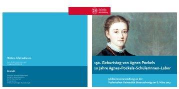 Festschrift, 21 Seiten (PDF) - Technische Universität Braunschweig