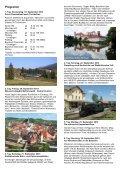 Bahnleckerbissen und Kultur in Tschechien 19. - 28 ... - SERVRail - Seite 2
