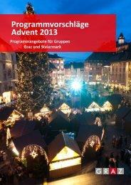Adventangebote 2013 - Graz Tourismus