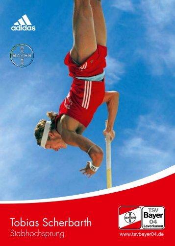 Autogrammkarte - TSV Bayer Leverkusen Leichtathletik