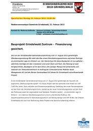 Grindelwald Zentrum vom 26.02.2013 - Losinger