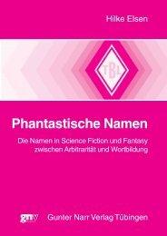 Phantastische Namen - im Shop von Narr Francke Attempto