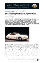 Sensationelle Auto-Klassiker bei Retro Classics ... - Messe Stuttgart