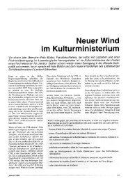 Neuer Wind - Forum – für Politik, Gesellschaft und Kultur in Luxemburg