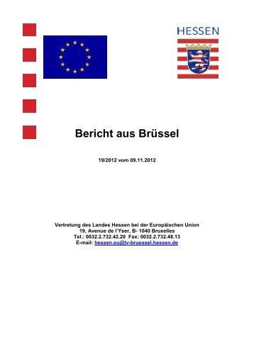 Bericht aus Brüssel - grundbesitzer-hessen.de