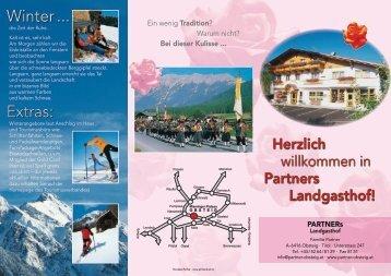 Winter ... Extras: - Partners Landgasthof