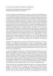 1. Gemeindeversammlung Escholzmatt-Marbach vom 14. Mai 2013 ...