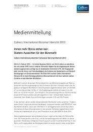 Bitte hier einen Dateinamen eingeben... - Colliers International Zurich