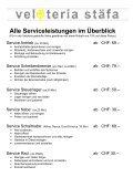 Unsere Serviceleistungen - Page 3